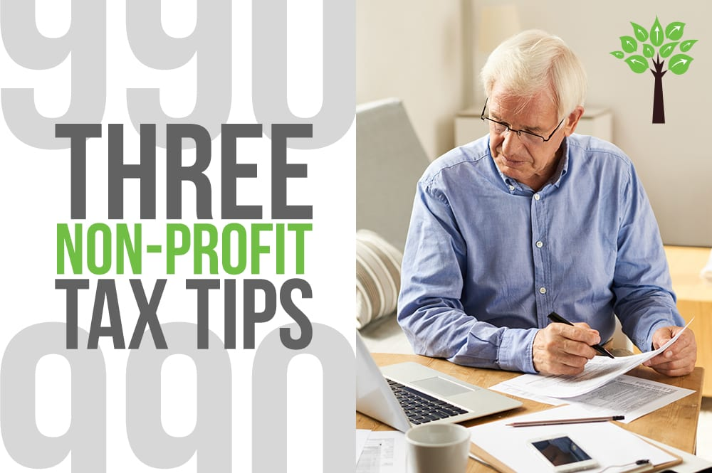 3 Non-Profit Tax Tip