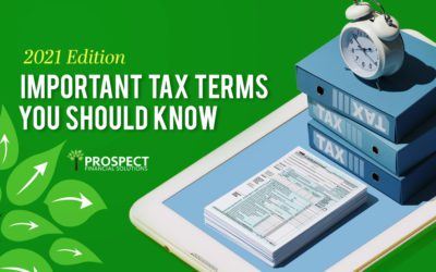 10 important tax terms you should know: 2021 edition